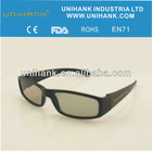 polarized3d glasses black theater circular video game movie dvd
