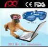 2012 Fashion Pet Dog Goggles 100% UV Protection Sun Glasses
