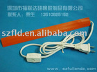 silicone rubber heater belt with plug 20*150*1.5mm 220v any size voltage can be customized