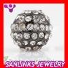 Unisex Shamballa Beads Crystal Ball