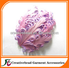 2011 hot sell fashion Curly feather Pad