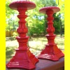 Polyresin antique vintage candelabra