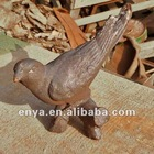 Lovely Bird Statue, Decorative Metal Animal Figurine
