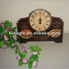 New fashion wooden handcrafts wall clock