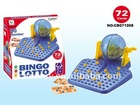 Bingo Lotto Game with 72cards,90numbers