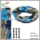 wholesale hot selling seamless elastic head bandanas