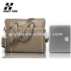 New arrival 14 inch genuine leather laptop bag