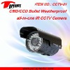 CCTV-81 IR waterproof camera ideal for monitoring entrances, hotel, school, shops, etc.