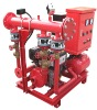 fire fighting system with diesel engine