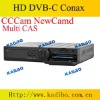 High quality Q5 C DVB Cable HD Receiver with AnnexB multi CAS conax