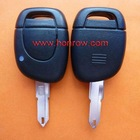 Renault 1 button remote key blank(With battery place)