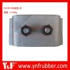 Excavator engine support parts for ZX200, Excavator rubber cushion 4410043 4410044