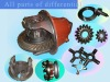 bus differential assy. and parts