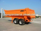 20CBM 2AXLE U TYPE TIPPER SEMI TRAILER