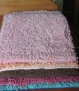 microfiber chenille bath rug