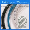 high quality White Plastic coated steel wire
