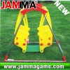 hot and funny outdoor playground double winnie swing
