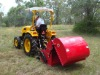 flail mower collector