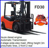 3ton Diesel Forklift truck,Japan ISUZU engine,FREE SPARE PARTS