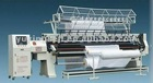 computer multi-needle lock stitch bed sheet making machine