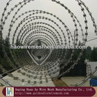 Edgily Cross galvanized Razor barbed wire(2.0-2.5mm)