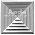 Aluminum Four ways Bevelled Edge ceiling Diffuser
