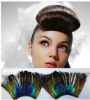 Theatrical art false eyelashes Peacock Feather eyelash