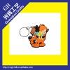 soft pvc key chain/key chain couple