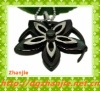New design black lotus flower pendant
