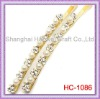 HC-1086 Hair Accessories Accented With White Pearl And Clear Rhinestone