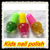 Fashion children kids nail polish mixed bling glitter