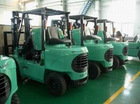 Mitsubishi forklift truck and spare parts