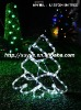 Super bright 3M white Led rope tree light/ tree motif Yard decoration ( Outdoor MOQ:200PCS)L12B-022