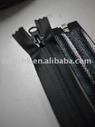 black 7# water resistant nylon zipper chain used for garment