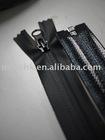 black 7# water resistant nylon zipper chain used for garment