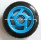 Blue 5-Tornado inner buckle scooter wheel