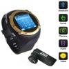 Quadband bluetooth sports watch celluar phone MQ222 with hidden Camera