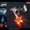 star pendant led necklace