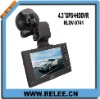"4.3"" big LCD Screen HD GPS Navigation and Car DVR"