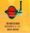 Hydraulic Hard Seal Double Eccentricity Butterfly Valve