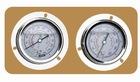 pressure gauges for refrigeration cold room condensing units