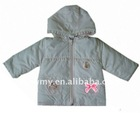 2011 hot sell baby's warm winter coat