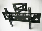 Extendable arm tv bracket for big lcd tv