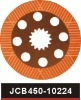 parts for jcb machine brake disc part no 450/10224