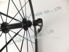 Straight pull hub 60mm clincher road wheelset 700c carbon wheel