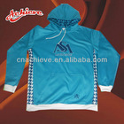 man's high quality hoodies with chest print