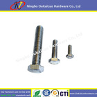 Hex Bolt and Nut DIN 933 ISO4017 Class 4.8, 8.8, 10.9, 12.9