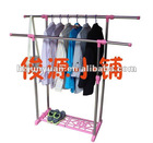 Chrome garment rack Adjustable garment rack