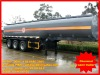 40 tons chemical liquid semi trailer