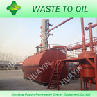 6mt batch-model plastic and tyre pyrolysis plant